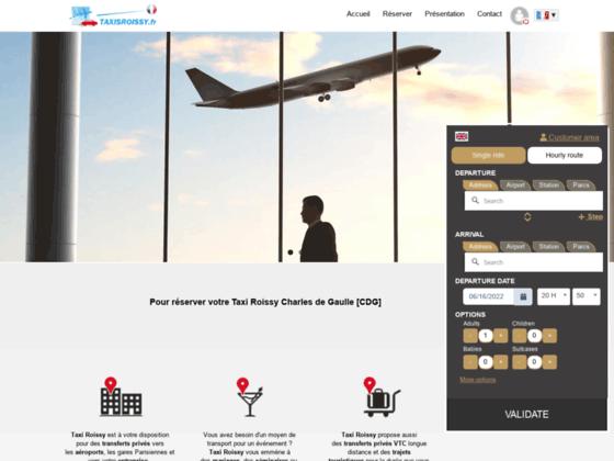 Détails : Commander un taxi pour Roissy CDG