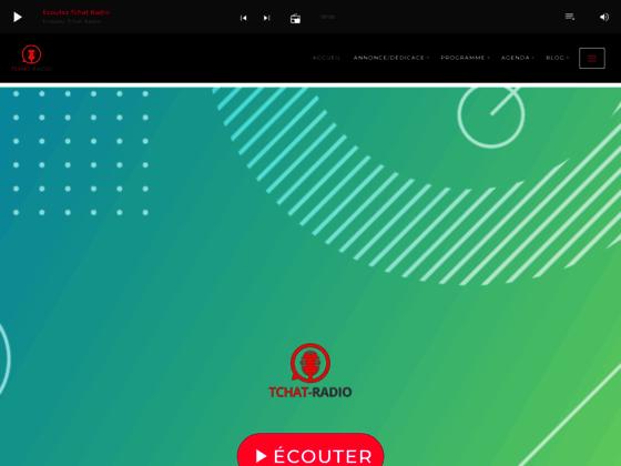 TChat-Radio : radio et tchat gratuit sans inscription.