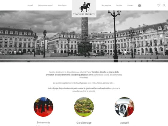 Détails : Templierssecurite.com - Le spécialiste du gardiennage à Paris