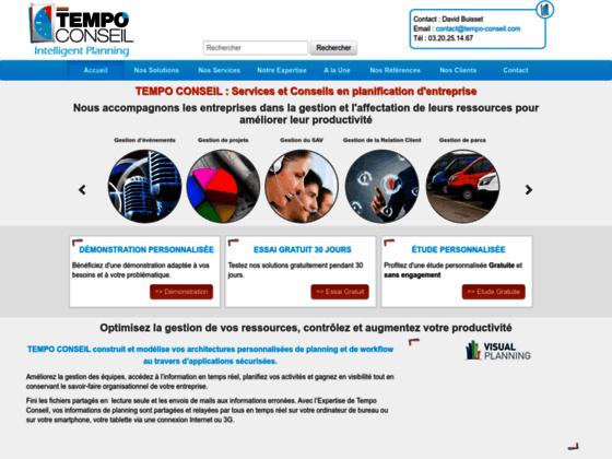 Tempo Conseil : logiciels planning