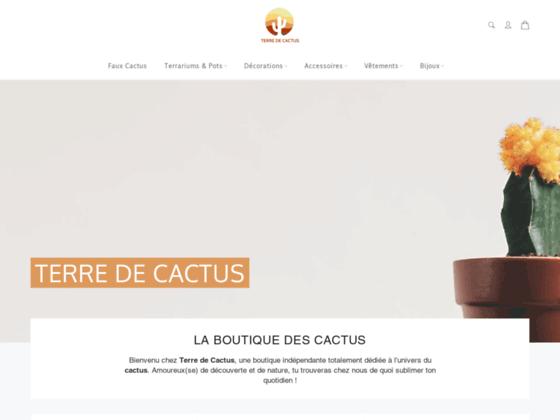 image du site https://terre-de-cactus.com
