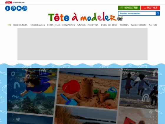 image du site https://www.teteamodeler.com/