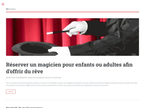 image du site https://www.theillusionists.fr