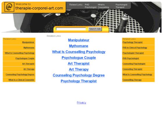 Photo image Therapie - corporelle - art