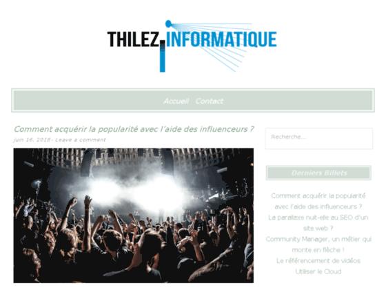 Photo image Thilez Informatique, services pour particuliers et professio
