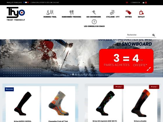 Détails : Chaussettes de sport Thyo