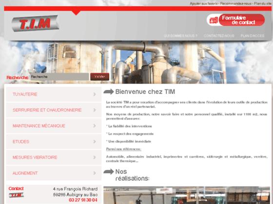 Tuyauterie industrielle, chaudronnerie, serrurerie, maintenance