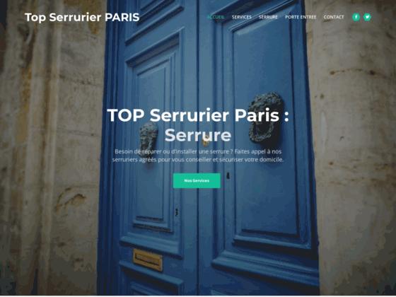 Serrure Paris