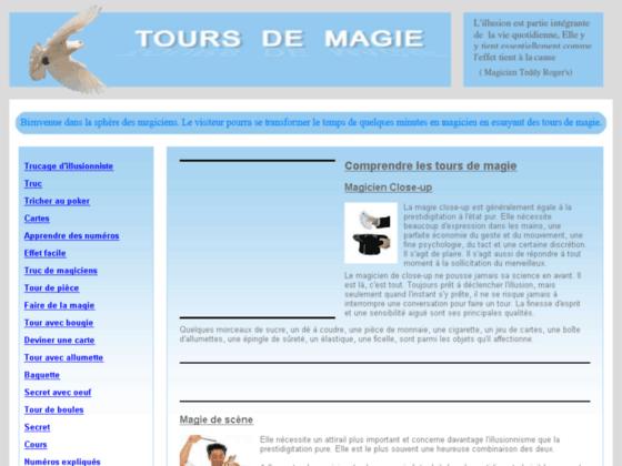 Détails : Trucs de magiciens