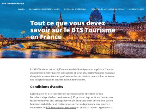 Toutes les formations relatifs au tourisme sur tourisme-france.net