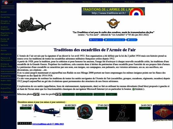 Photo image Traditions des escadrilles de l'Armée de l'air