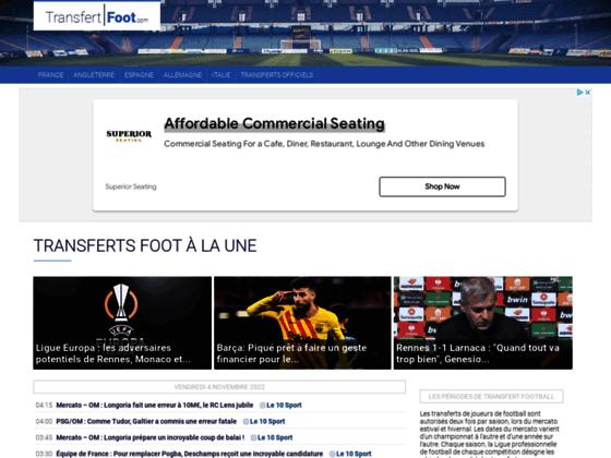 Détails : Le site d'actu des supporters de foot