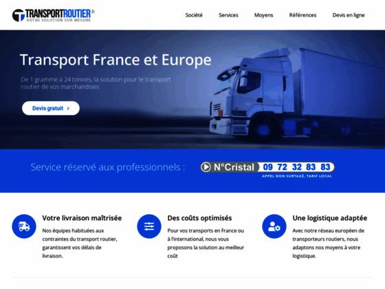 Détails : Transport France et logistique