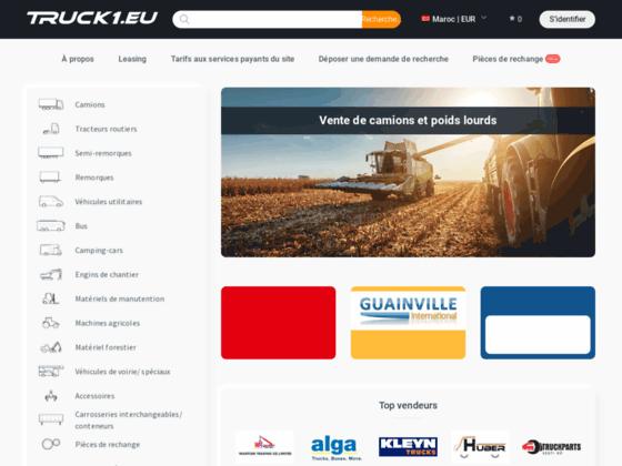 image du site https://www.truck1.co.ma/