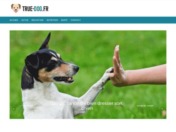 image du site http://true-dog.fr