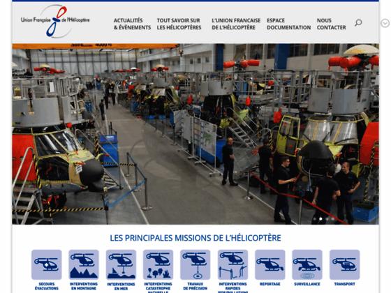 Photo image Accueil - UFH - Union Française de L'Hélicoptère
