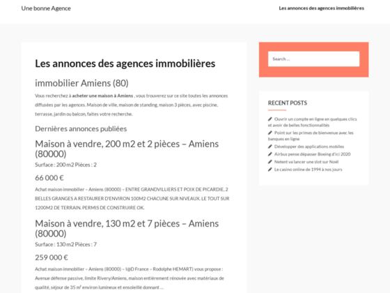 Détails : unebonneagence.com