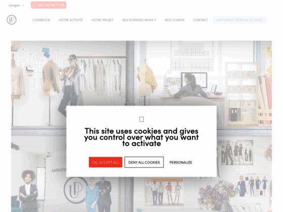 Détails : Fabriquant d'uniforme