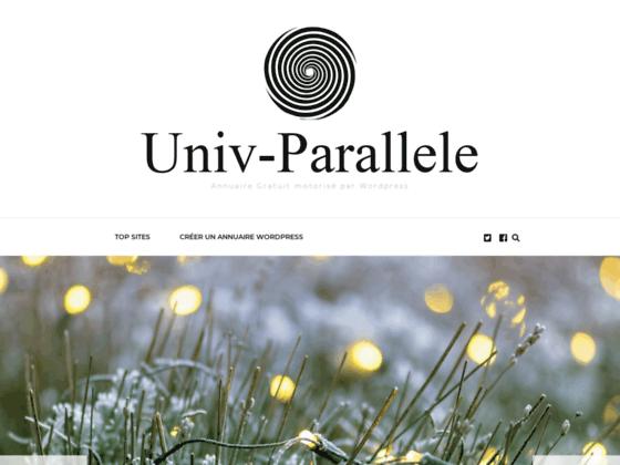 Détails : Univ parallele