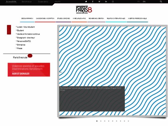 Photo image Universite Paris 8