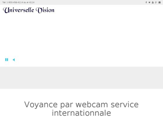 Détails : Universelle Vision Voyance en privé à partir de 8 €