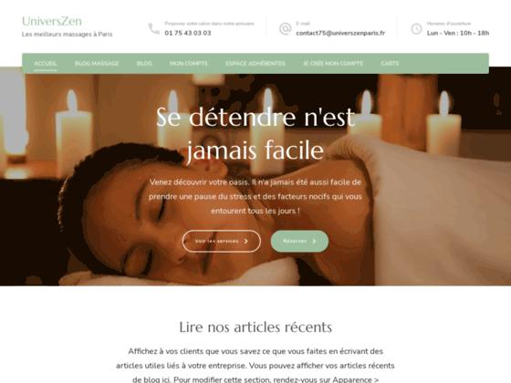 Détails : massage sensuel paris
