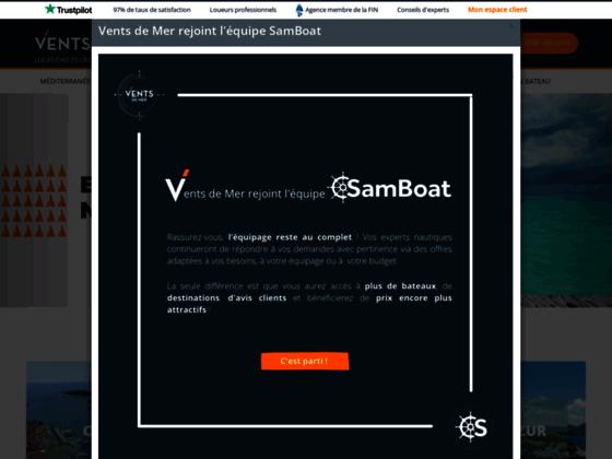 Détails : Croisière en voilier par Vents de Mer