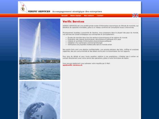 Détails : Traçage d'actifs d'entreprises et de personnes, Verific Services