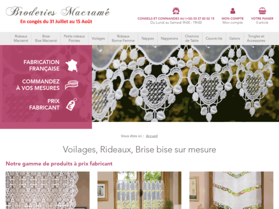 Photo image Veritable Macrame Brode