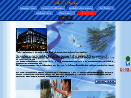 Détails : Entreprise de vitre sur Paris