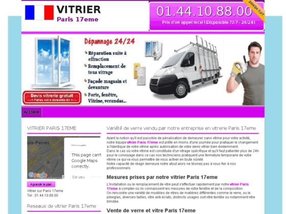 Détails : vitrier 75017