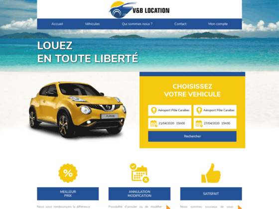 Voiture Guadeloupe location