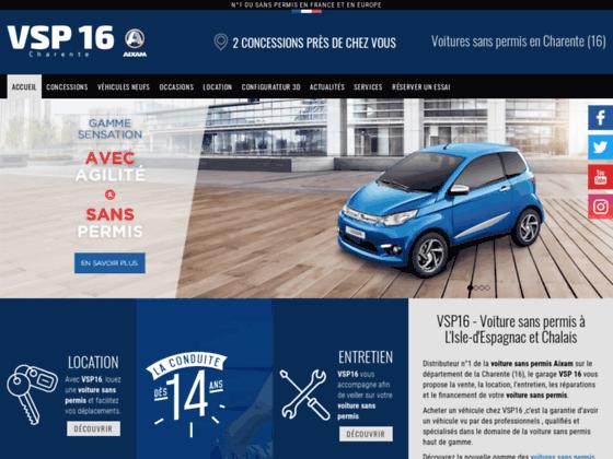 Détails : Voiture sans permis Poitou-Charente