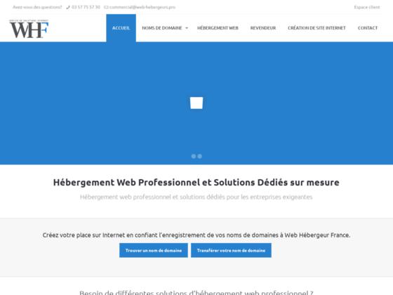 Détails : Web Hébergeur France