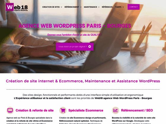 Photo image web18 creation de site internet et de boutique de vente sur-mesure
