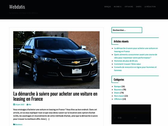 Détails : Webdatis, agence création site et webmarketing