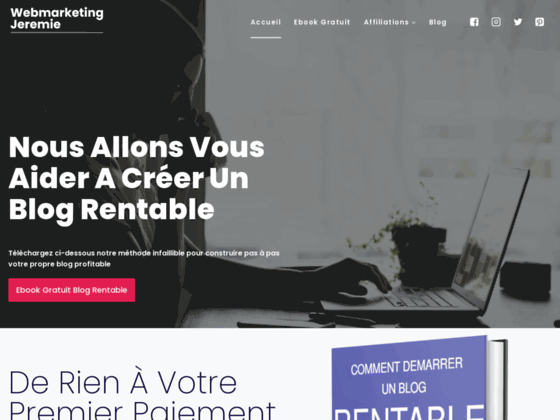Détails : Créer un site très rentable