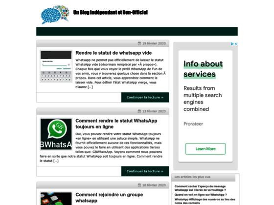 Détails : Toute savoir sur WhatsApp Messenger