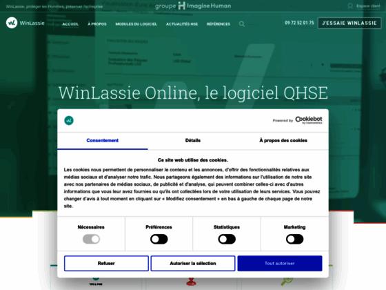 Détails : Gestion de la santé au travail avec le logiciel Winlassie