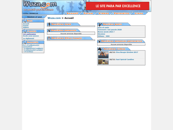 Photo image WUZA.com - Le portail parachutisme