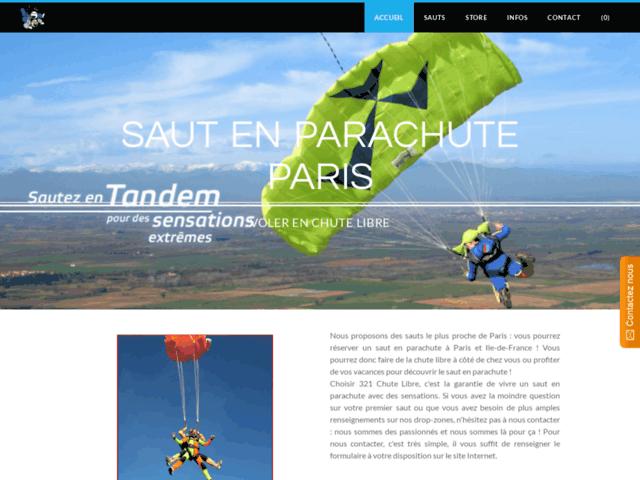 Survey of 321chutelibre sauts en parachute - accueil  - Karaoke-israel.com