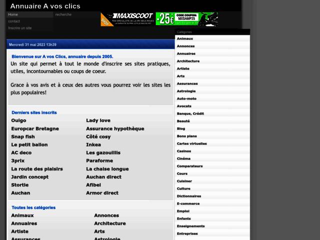 Survey of Annuaire gratuit de sites. classement et avis de e-commerce  - Karaoke-israel.com