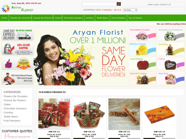 Send Cakes to Tanda with Aryan Florist and Spread Happiness Everywhere