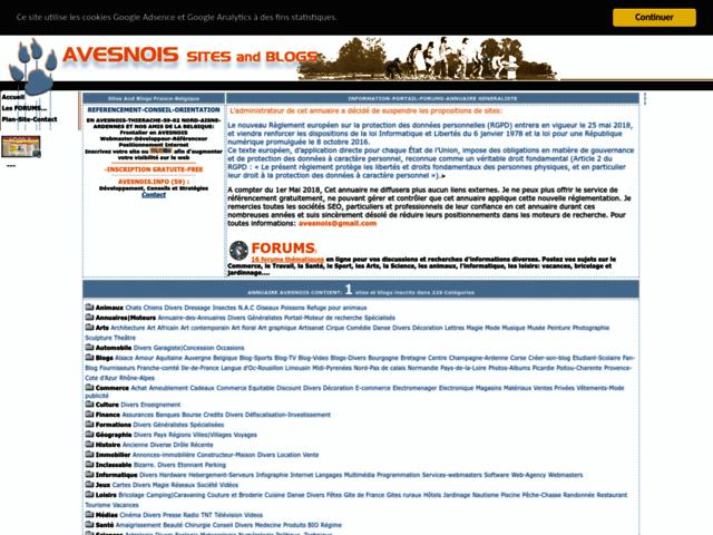 Survey of Avesnois-annuaire-site and blog : referencer votre blog-59-nord-france-belgique-liens durs  - Karaoke-israel.com