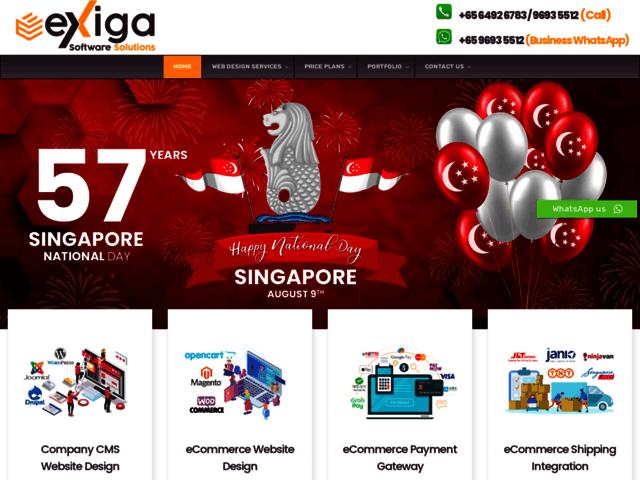 Wordpress website developer Singapore