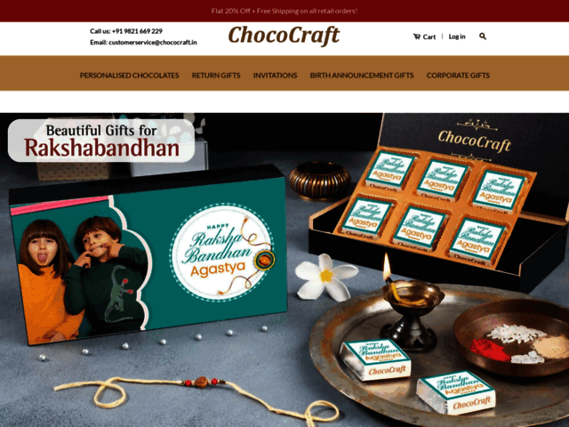 Birthday gift idea – online birthday gift customized chocolate for wedding, engagement, Christmas.