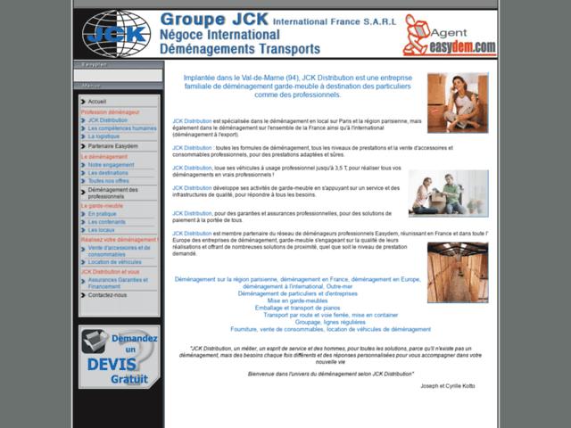 Aperçu de Demenageur jck distribution demenagement 94 limeil brevannes 93 val-de-marne  - Karaoke-israel.com