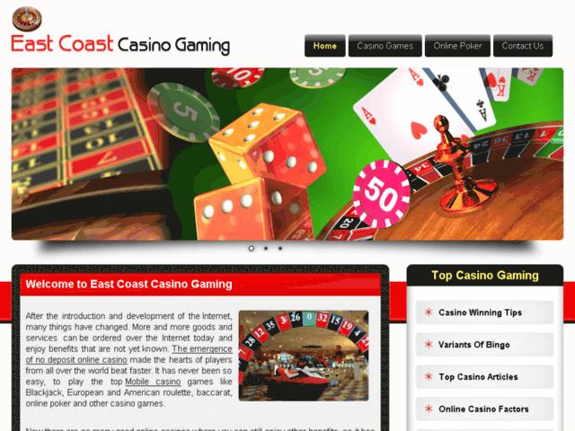 East Coast Casino Gaming