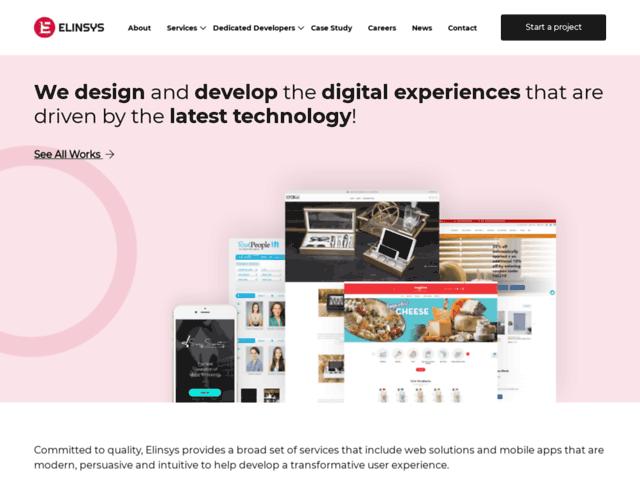 Web Apps Development Company India – Elite Infoworld