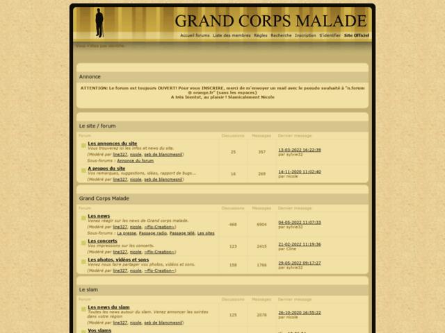 Survey of Grand corps malade :: slam, bio, textes, infos, concerts...  - Karaoke-israel.com